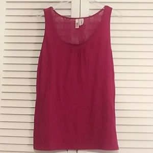Route 66 Sleeveless Top, Berry Colored